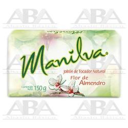Manilva Jabón de tocador natural Flor de almendro 150 g