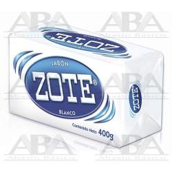 Zote® Jabón en barra blanco 400 g