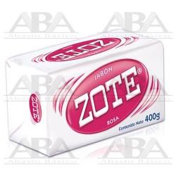 Zote® Jabón de lavandería en barra rosa 400 g