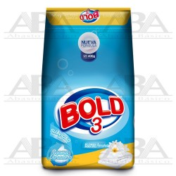 BOLD 3 Detergente para Ropa 400 gr. Flores para mis Amores