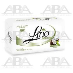 Lirio® Jabón Antibacterial de Coco 150 g