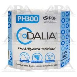 Papel Higiénico Tradicional Dalia 300 HD