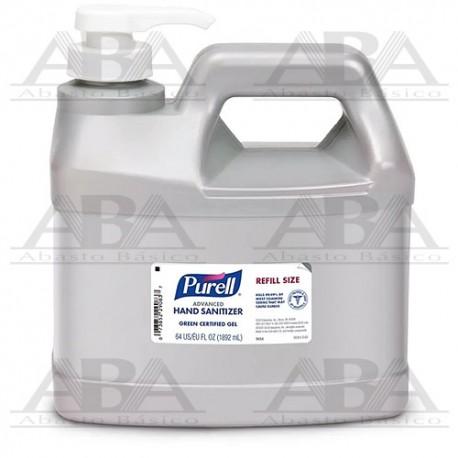 Purell® Advanced Gel Alcohólico Antiséptico para manos 1.8 L 9684-04