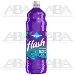 Limpiador Líquido Multiusos Lavanda 1L Flash