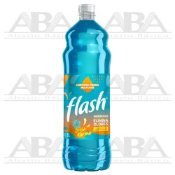 Limpiador Líquido Multiusos Brisa Marina 1L Flash
