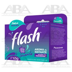 Pastilla Sanitaria en Canastilla 65 gr Lavanda Flash