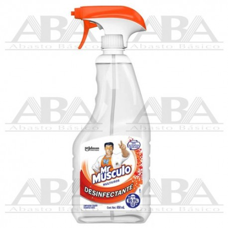 Mr Músculo Limpiador Multiusos Desinfectante 650 ml