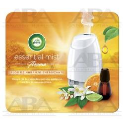 Air Wick Essential Mist Flor de Naranjo Energizante vaporizador