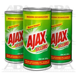 Ajax® Bicloro Limpiador en polvo 388 gr 48 piezas