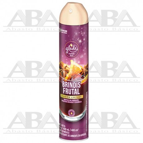 Glade® Aromatizante Aerosol Brindis Frutal, 400ml