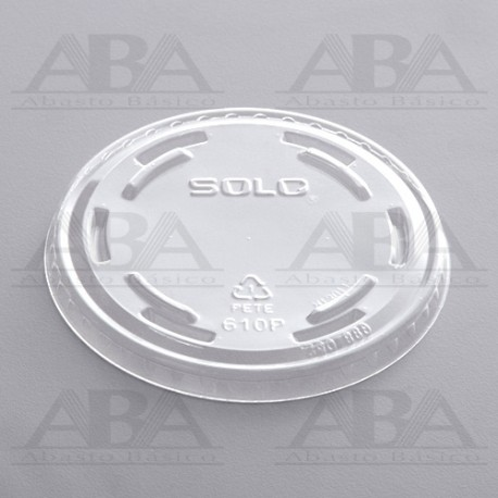 Tapa transparente para vaso 600p Solo