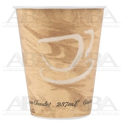 Vaso de papel para bebidas calientes 378MS 8oz / 237 ml Mistique®