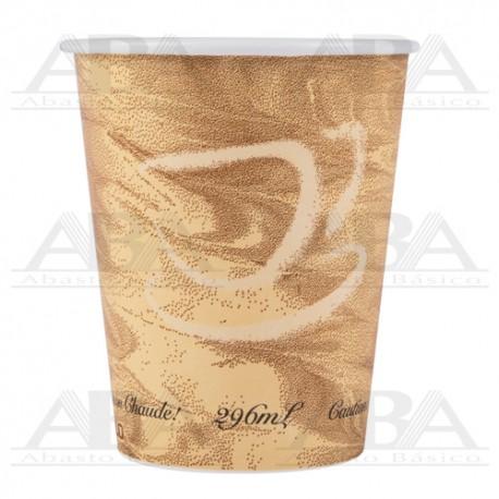 Vaso de papel para bebidas calientes 370MS 10oz / 296 ml