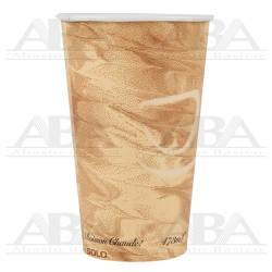 Vaso de papel para bebidas calientes 316MS 16oz / 473 ml Mistique®