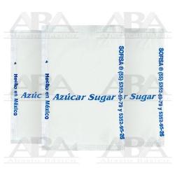 Azúcar refinada en sobre 5 gr.