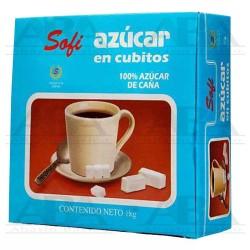 Azúcar refinada en cubos 1 kg Sofisa