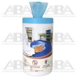 Toalla Sanitizante Grado Alimenticio Gourmet 200 toallas