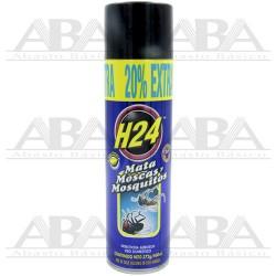 Insecticida en aerosol H24 Moscas y Mosquitos 460 ml