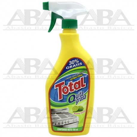 Quita Grasa Total Antibacterial 700 ml