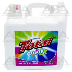 Detergente líquido para ropa de color Total 7 L