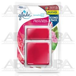 Glade® Sensations Repuesto 2 pack Deleite Floral y Frutos Rojos™