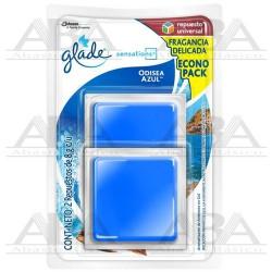 Glade® Sensations Repuesto 2 pack Odisea Azul™