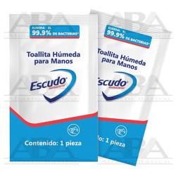 Toallitas Húmedas Antibacteriales para manos 92553  Escudo