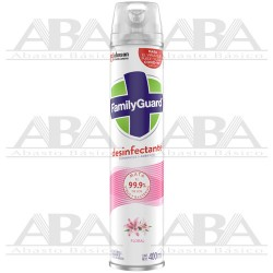 FamilyGuard® Aerosol Desinfectante Floral 400 ml.