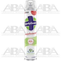 FamilyGuard® Aerosol Desinfectante Frescura Campestre 400 ml.