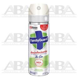 FamilyGuard® Aerosol Desinfectante de Superficies y Ambientes TO GO Frescura Campestre 55 ml.