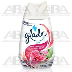 Glade® Cono Deleite Floral y Frutos Rojos 170 gr
