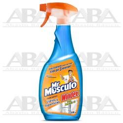 Mr Músculo® Windex® Vidros y Superficies 750 ml.