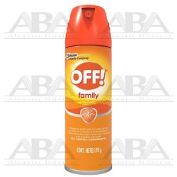 OFF!® Family Repelente de Insectos en Aerosol 170 gr.