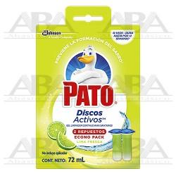 Pato® Discos Activos Repuesto Fresca Lima 72 gr.