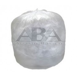 Bolsa de plástico natural para basura 120 x 160 cm