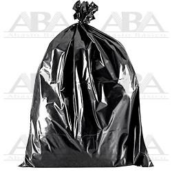 Bolsa negra para basura de baja densidad reciclada y ecológica